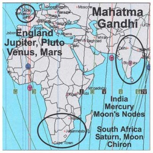 Earthlines for Mahatma Ghandi